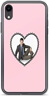 iPhone XR Case Clear Anti-Scratch Shock Absorption I Heart Nathan Fielder, Nathan Fielder Cover Phone Cases for iPhone XR