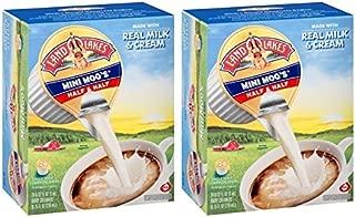 Land O Lakes Mini Moo's Half & Half Dairy Creamer 24-0.28 fl. oz. Box (Pack of 2)