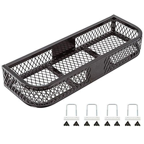 Rage Powersports Black Front Mesh ATV Rack Basket