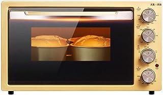 UZIQAQ Mini Horno EléCtrico De 42l con Placas De Calentamiento Dobles, MúLtiples Funciones De CoccióN Y Parrillas, Control De Temperatura Ajustable, Temporizador - 2000w