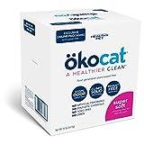 ÖKOCAT Super Soft Natural Wood Clumping Cat Litter with...