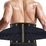 腰用コルセット SZ-Climax 腰用サポーター スポーツ用 怪我防止 腰保護ベルト 筋トレ サポート 腰ベルト レディース メンズ (XL)