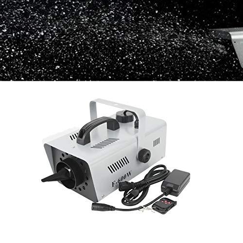 TC-Home 600W Snowflake Flake Effect Stage Show DJ Party Snow Machine Wireless Control
