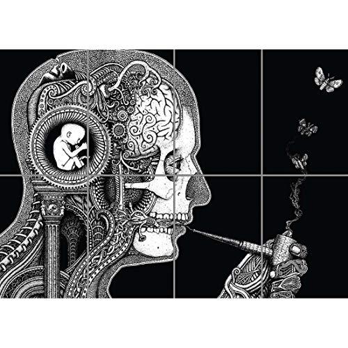 Doppelganger33 LTD Psychodelic Weird Wand Kunst Multi Panel Poster drucken 47x33 Zoll