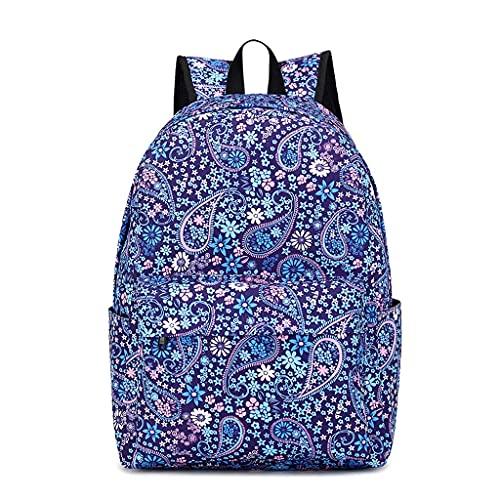 UNF Mochila para niña, mochila escolar para niñas y mujeres, mochila casual con personalidad y creatividad, viajes al aire libre, estudiantes universitarios de moda casual, rosa,