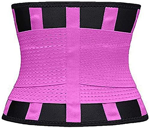 W88angchuangqiu Adelgazante Cinturón Cinturón Cintura Cintura Cintura Cinturón Trainer Cinturón for Mujeres Pérdida de Peso Ajustable Sauna Shapewear Cuerpo Adelgazante (Color : C, Size : L)