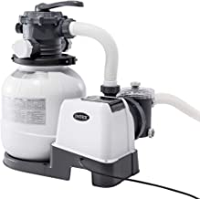 Intex Filtre épurateur à sable pour piscine hors sol - nouveau système Hydro Aeration avec un débit de 7 900 litres / heur...