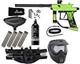 Action Village Azodin KAOS 3 Paintball Gun Epic Package Kit (Dust Green with Dust Black Parts)