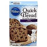 Pillsbury Date Quick Bread & Muffin Mix, 16.6-Ounce (Pack of 12)