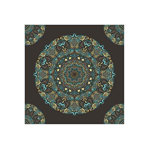 Mandala–Caleidoscopio | Moderno Lienzo con impresión artística, distintos tamaños (100cm x 100cm), 20 cm x 20 cm