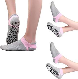Calcetines Antideslizantes Mujeres para Pilates Danza Yoga Gimnasio Deportes - Calcetines de Yoga