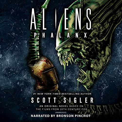 Aliens: Phalanx Audiobook By Scott Sigler cover art