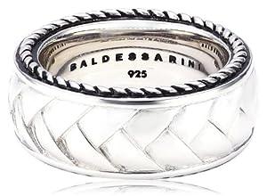Baldessarini Herren-Ring 925 Sterlingsilber vintage-oxidized Gr. 62 (19.7) Y2010R/90/00/62
