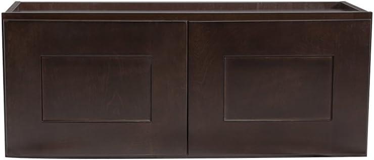 Amazon Com Design House Kitchen Cabinets Wall 12 In Espresso Home Kitchen