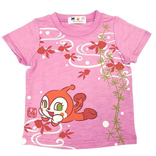 アンパンマン 半袖Tシャツ和柄 バックプリント Anpanman 夏物 fpo-ta3145-9070 80cm ドキンちゃん