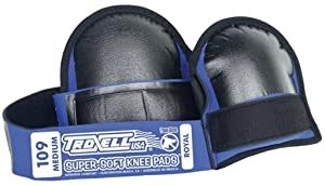 Troxell USA - SuperSoft 109 Knee Pad (Med/ Reg Size, Bagged in Pairs