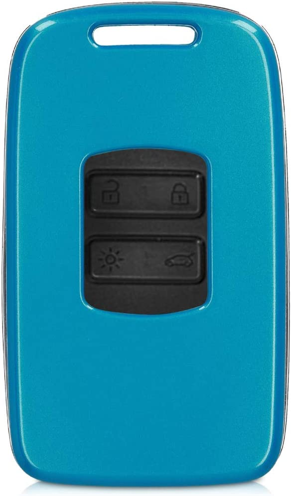 Red High Gloss kwmobile Key Cover Compatible with Renault