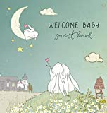 BABY SHOWER GUEST BOOK with GIFT LOG (HARDCOVER) for Baby Naming Day, Baby Shower Party, Christening or Baptism Ceremony, Welcome Baby Party: A Keepsake Baby Book for Welcome Wishes for Baby