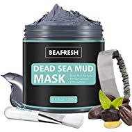 Natural Dead Sea Mud Mask - Headband & Brush included for Face and Body Cleansing Relaxing Detox Tre...
