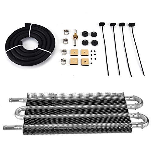 Enfriador de aceite, radiador, coche, 4 filas, transmisión remota, kit de enfriador de aceite, convertidor de radiador manual automático para piezas de repuesto