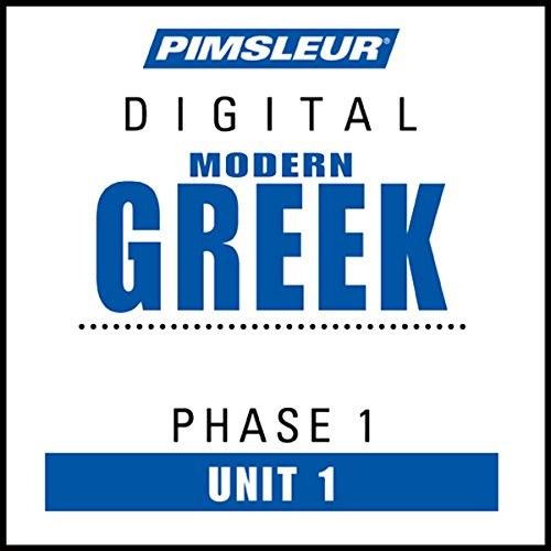 Greek (Modern) Phase 1, Unit 01 Titelbild