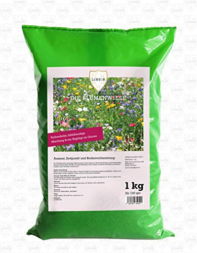 Linsor Blumenwiese 1kg | Blumenwiese...