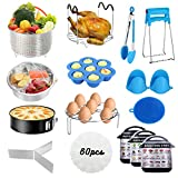 Accessories for Instant Pot, 75PCS Accessories Compatible with 5/6/8Qt Instant Pot - 60 Pcs Par…