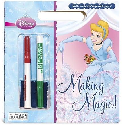 Making Magic (Disney Princess) (Write-On/Wipe-Off Activity Book) by RH Disney (2008-08-26)