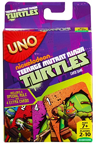 Mattel – UNO – Teenage Mutant Ninja Turtles – Kartenspiel [UK Import]