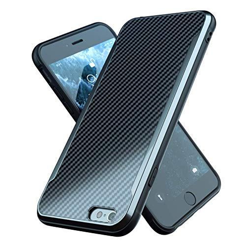 iPhone 6 Case | iPhone 6S Case | Shockproof | 12ft. Drop Tested | Carbon Fiber Case | Lightweight | Scratch Resistant | Compatible with Apple iPhone...