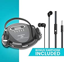 Portable CD Player Headphone & (Earphone NEW) Included – Skip Protection for..