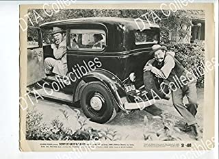 MOVIE PHOTO: CORKY OF GASOLINE ALLEY 8x10 PROMO STILL-VG-1951-OLD CAR-COMEDY-COMIC STRIP VG