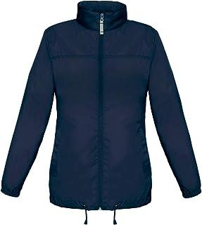 B&C Women's Full Zip Siroco Raincoat
