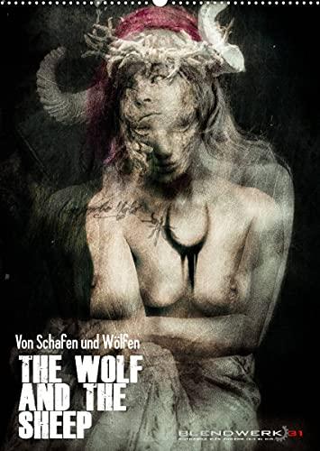 Von Schafen und Wölfen - The Wolf and the Sheep (Wandkalender 2022 DIN A2 hoch)