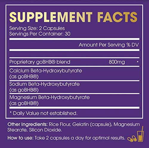 Extra Strength Keto Diet Pills for Men & Women; Ketosis Supported Fat Burn Formulated with Keto BHB; 30 Servings 3