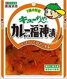 東海漬物 キューちゃんカレー福神漬100g × 5パック