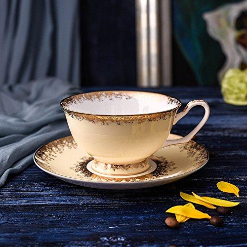 Europäische Kaffeetasse Keramik - Cup - Mädchen Geschenk Europäischen Kaffee,Kanarischen Gelb