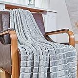 Bertte Throw Blanket Super Soft Cozy Warm Blanket 330 GSM Lightweight...