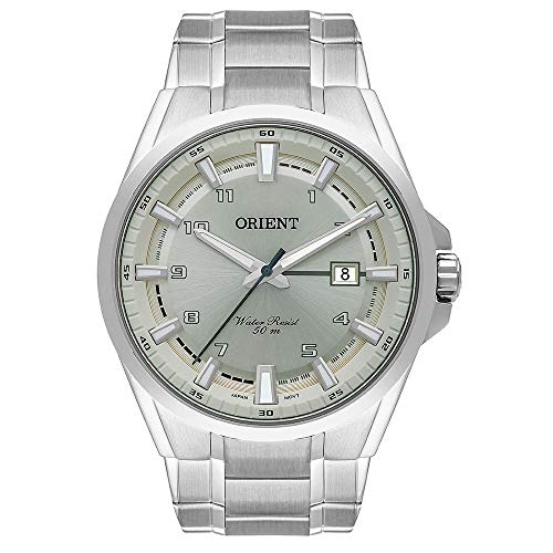 Relógio Orient Masculino Ref: Mbss1368 I2sx Casual Prateado