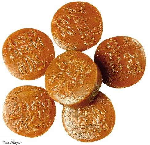 Vollmilchmünzen Bonbon gefüllt 500g