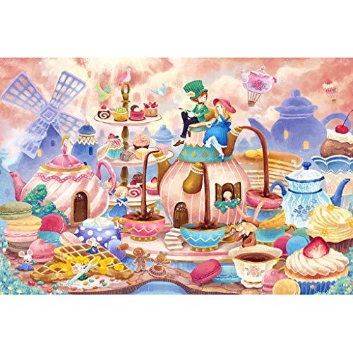 Puzzels 1000 Stuks, 1000/1500/2000/3000/4000 Tabletten, Theepot Wereld, Houten Volwassen Kinderen Educatieve Decompressie Speelgoed Beste Cadeau -4.25 (Size : 2000 pieces)
