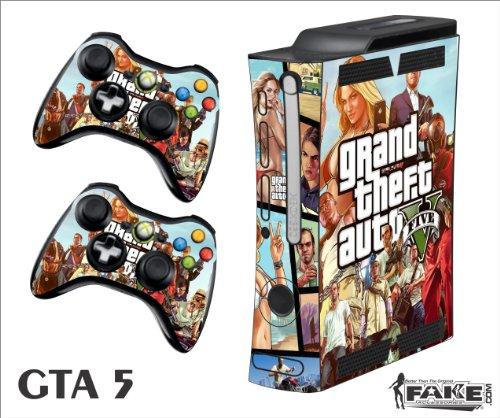 GTA 5. Xbox 360 F SKIN