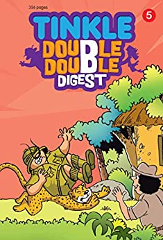 Tinkle Double Double Digest No. 05 by [Thindiath, Rajani]