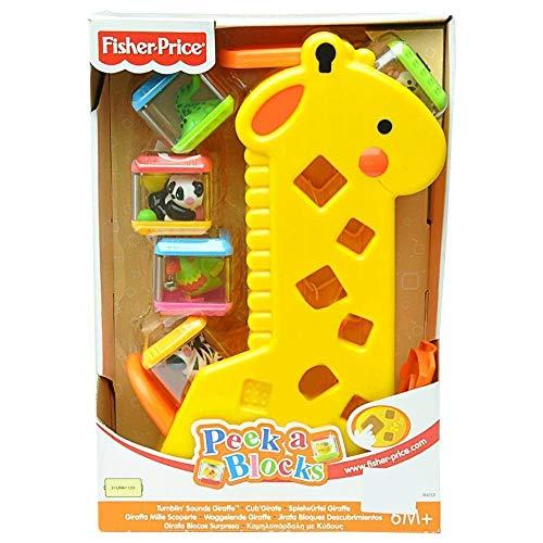 Fisher Price Girafa Divertida Com Blocos B4253 Mattel