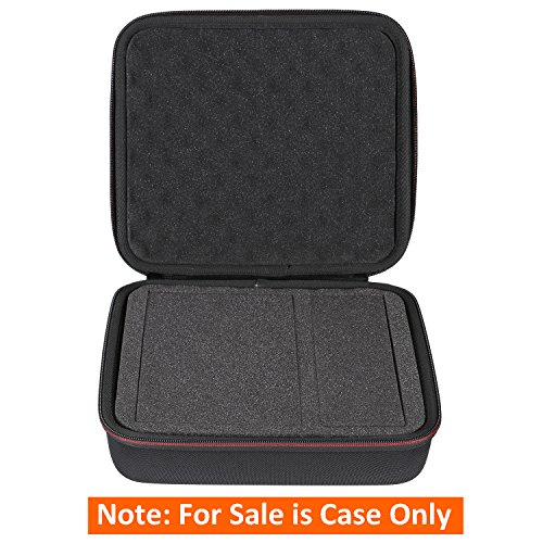LTGEM Hard Case for Seagate Expansion2TB 3TB 4TB 5TB 8TB Desktop External Hard Drive USB 3.0 with Dense Foam. Fits USB Cable and Charger.(Black)
