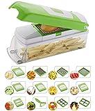 NOVEL Vegetable & Fruit Chipser With 11 Blades + 1 peeler inside, vegetable chopper, vegetable...