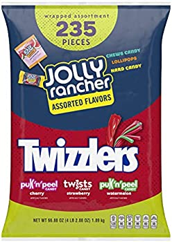 235-Piece Hershey's Jolly Rancher & Twizzlers Bulk Candy Variety Pack