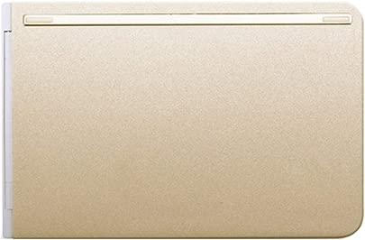 LHQ Tastatur  Faltendes Drahtloses Bluetooth-Licht Und Tragbares IOS Android-Telefon-Tablette Universalaluminiummaterial  Anti-Verschlei   Schwarzes  Gold  Farbe B