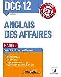 DCG 12 Anglais des affaires - Réforme Expertise comptable 2019-2020