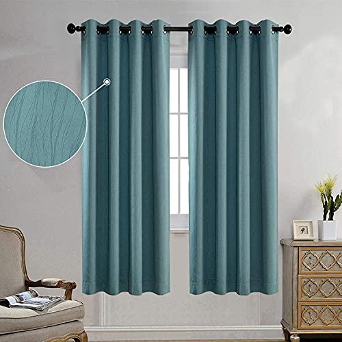 Miuco Blackout Curtains Room Darkening Curtains